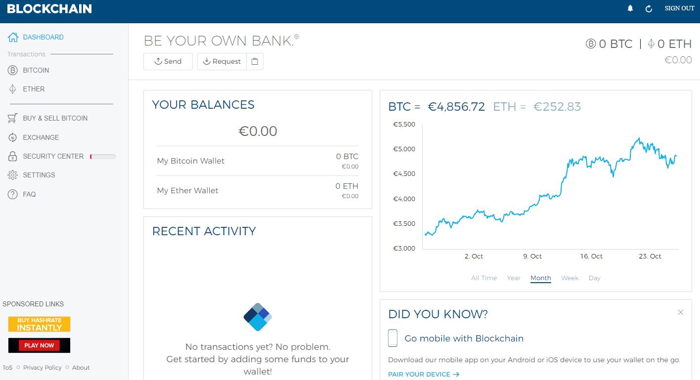 blockchain bitcoin mining