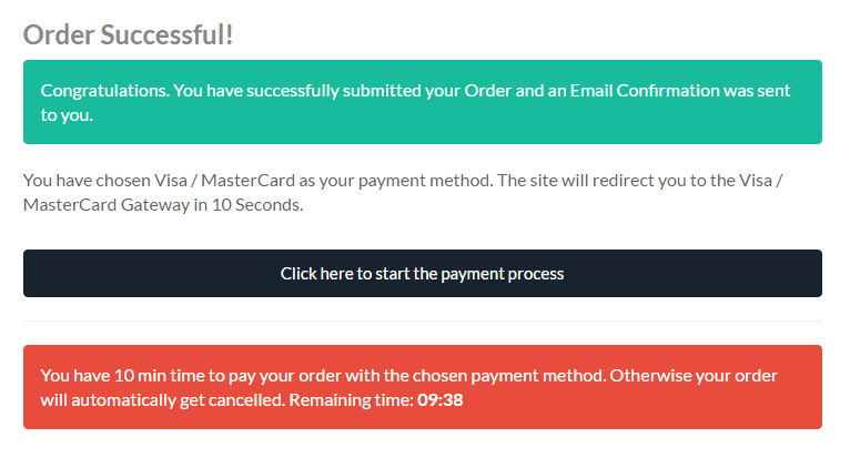 bitpanda payment button