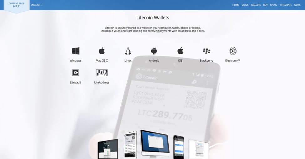 Litecoin mobile wallet