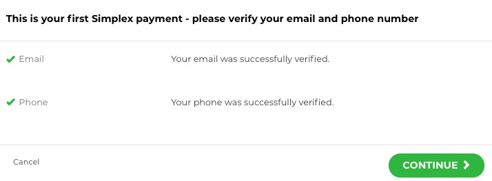 Verify Email and Phone Number