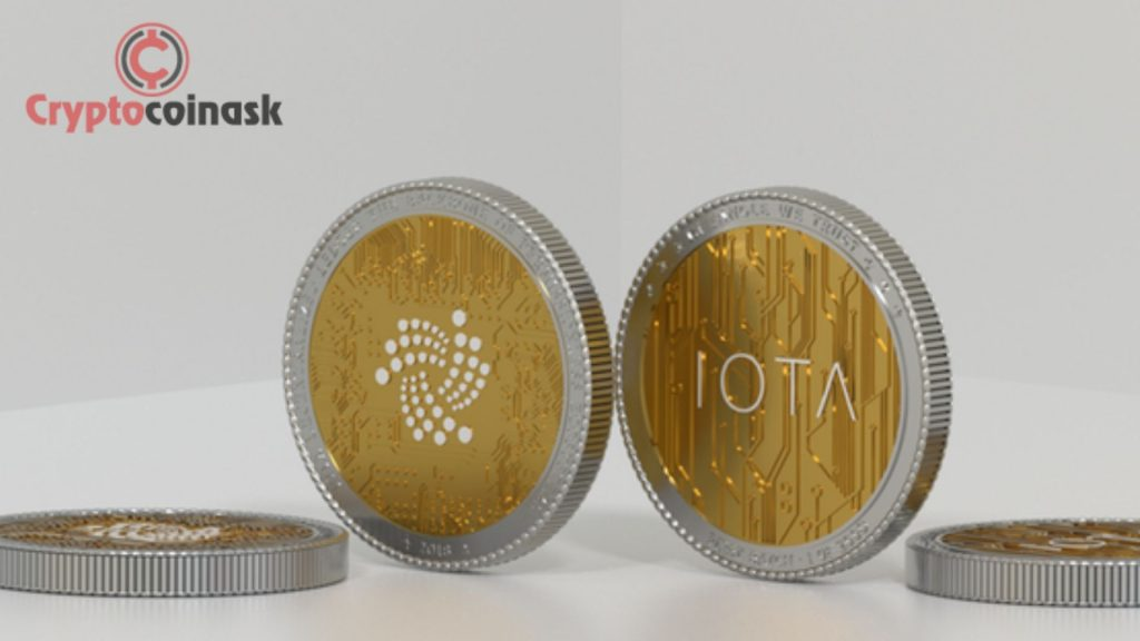IOTA Cryptocurrency Coin
