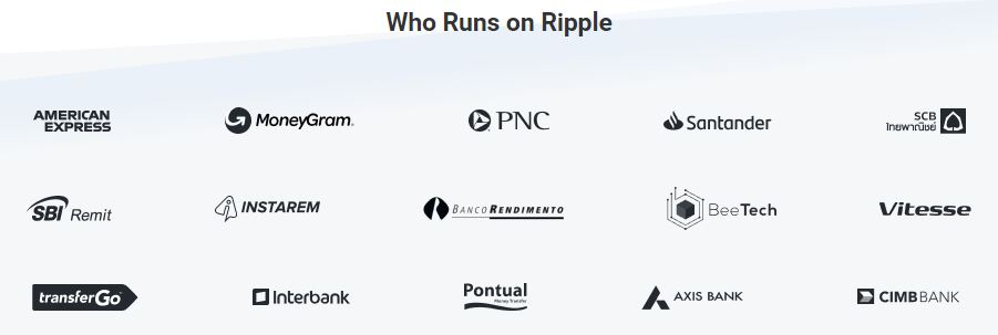 Who Runs on Ripple